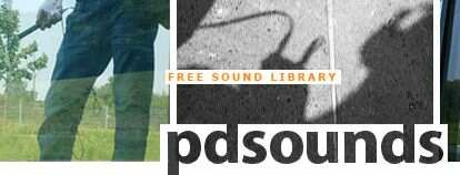 pdsounds: Free Sound Effects Library