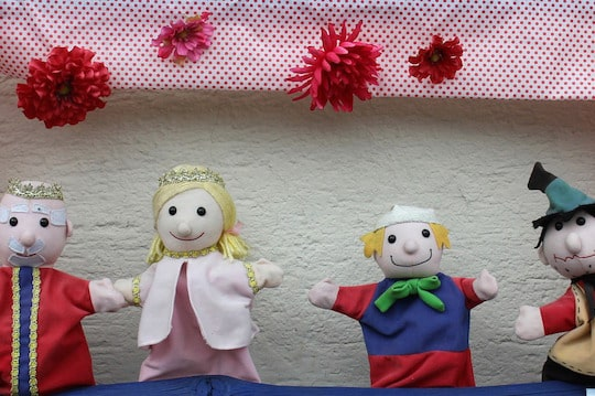 Types of Puppets for Drama Class